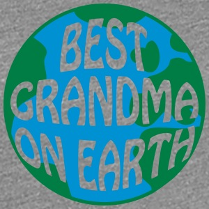 Best Grandma On Earth Logo T-Shirts - Frauen Premium T-Shirt