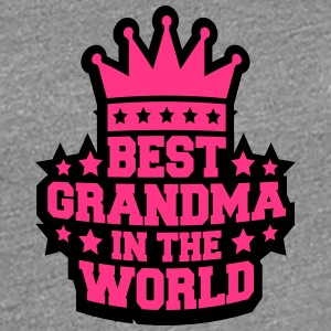 Best Grandma in the World Queen Logo T-Shirts - Frauen Premium T-Shirt