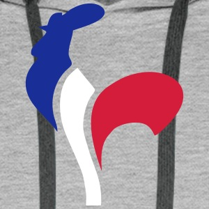 Coq france Sweat-shirts - Sweat-shirt à capuche Premium pour hommes