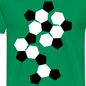 surfaces de Football Tee shirts - T-shirt Premium Homme