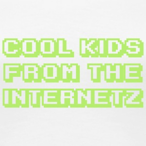 Cool Kids From The Internetz T-Shirts - Frauen Premium T-Shirt