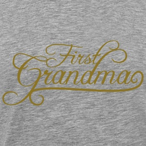 First Grandma Queen Design T-Shirts - Men's Premium T-Shirt