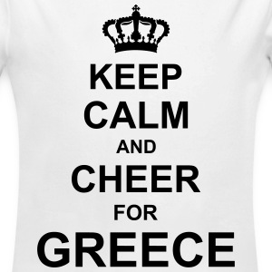 keep_calm_and_cheer_for_greece_g1 Hoodies - Longlseeve Baby Bodysuit