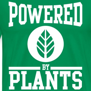 Powered by plants T-shirts - Premium-T-shirt herr