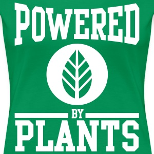 Powered by plants T-Shirts - Women's Premium T-Shirt