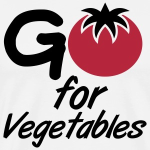Go for vegetables T-Shirts - Männer Premium T-Shirt