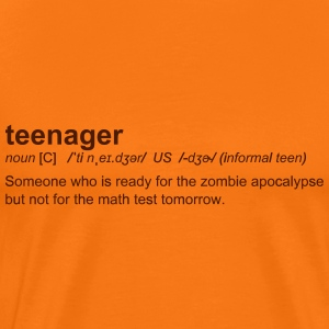 Definition of Teenager - T-shirt Premium Homme