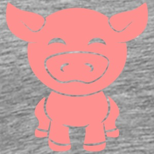 Sweet little baby piglet piggy T-Shirts - Men's Premium T-Shirt
