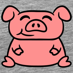 Cute sweet piggy piglet T-Shirts - Men's Premium T-Shirt