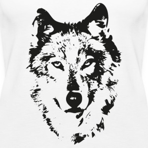 Wolf Top - Frauen Premium Tank Top