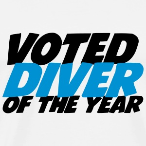 Voted Diver of the year ! T-shirts - Premium-T-shirt herr