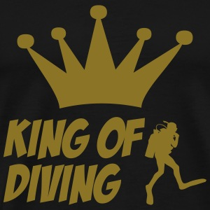 King of Diving Tee shirts - T-shirt Premium Homme