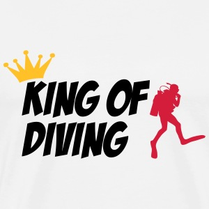 King of Diving Camisetas - Camiseta premium hombre