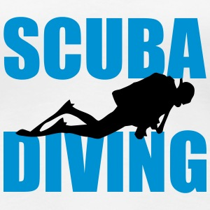 Scuba Diving T-Shirts - Frauen Premium T-Shirt