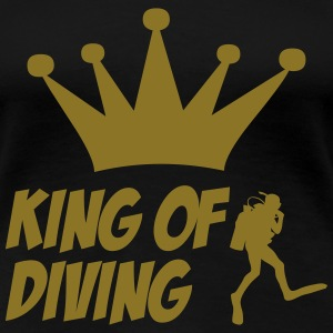 King of Diving T-Shirts - Frauen Premium T-Shirt