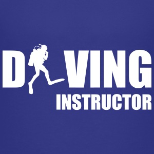 Diving Instructor Camisetas - Camiseta premium adolescente