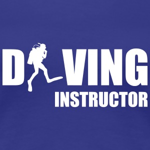 Diving Instructor T-shirts - Premium-T-shirt dam