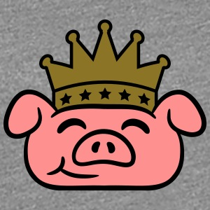 Piglet Crown face T-Shirts - Women's Premium T-Shirt