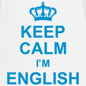keep_calm_I'm_english_g1 Fartuchy - Fartuch kuchenny