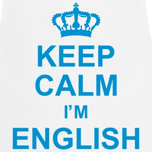 keep_calm_I'm_english_g1 Forklær - Kokkeforkle
