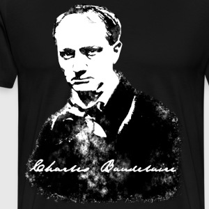 T-shirt Homme - Charles Baudelaire - T-shirt Premium Homme