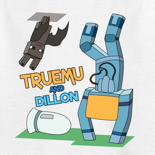 Kid's T-Shirt: TrueMU and Dillon!