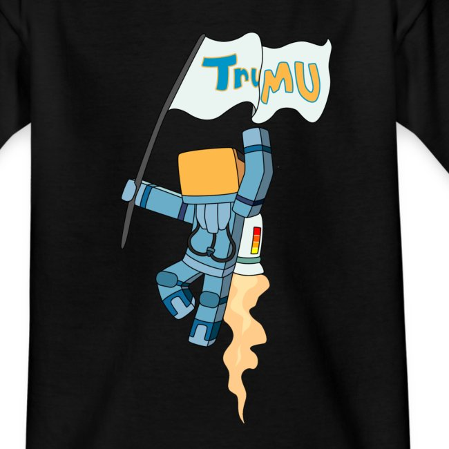 Kid's T-Shirt: TrueMU Flag!