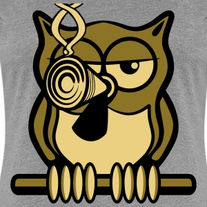 OWL bird smoke joint T-Shirts - Women's Premium T-Shirt