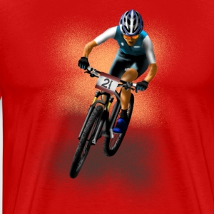 mountainbike T-skjorter - Premium T-skjorte for menn