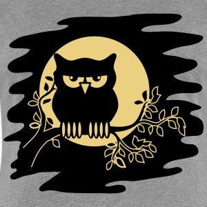 OWL AST night Moon T-Shirts - Women's Premium T-Shirt