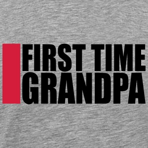The first time Grandpa first time GPA T-Shirts - Men's Premium T-Shirt