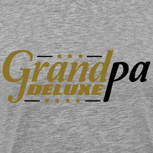Best Super Grandpa Deluxe T-Shirts - Men's Premium T-Shirt