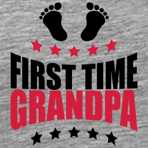 The first Grandpa times first time GPA baby T-Shirts - Men's Premium T-Shirt