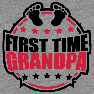 The first Grandpa times first time baby logo T-Shirts - Women's Premium T-Shirt