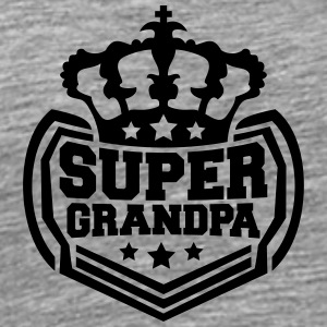 Super King King kroon OPA logo T-shirts - Mannen Premium T-shirt