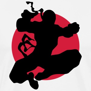 Martial arts, Karate, Boxing, Ninjutsu, Kung Fu, - Men's Premium T-Shirt