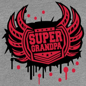Cool Super opa wapenschild van graffiti T-shirts - Vrouwen Premium T-shirt