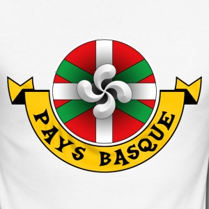 pays basque 11 Manches longues - T-shirt baseball manches longues Homme