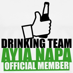 Drinking Team Ayia Napa T-Shirts - Men's Premium T-Shirt