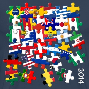 World Cup Puzzle T-Shirts - Men's Premium T-Shirt
