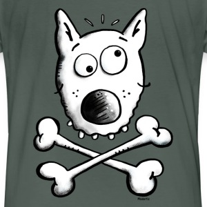 Pirate Dog - Dogs Tee shirts - T-shirt bio Homme