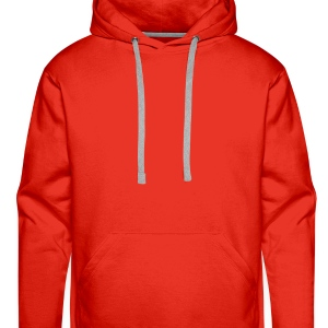 Red lamb/ easter  Aprons - Men's Premium Hoodie