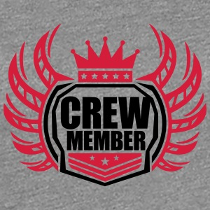 Crew Member Kings T-Shirts - Frauen Premium T-Shirt
