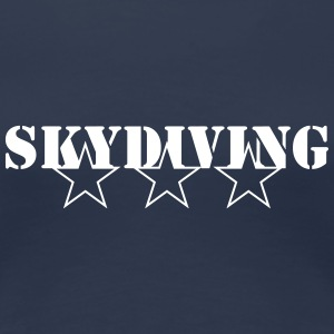 Skydiving Tee shirts - T-shirt Premium Femme