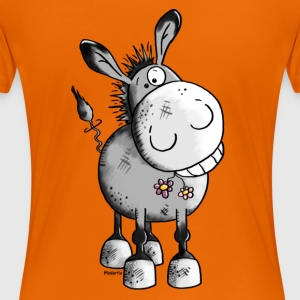 Happy Donkey - Animal T-Shirts - Women's Premium T-Shirt
