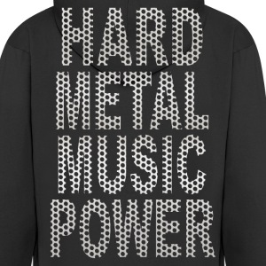 hard metal music power Hoodies & Sweatshirts - Men's Premium Hooded Jacket