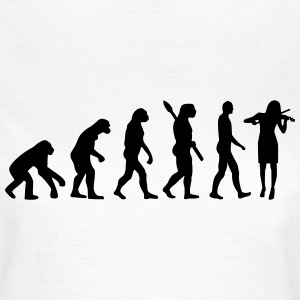 Evolution Geige T-Shirts - Frauen T-Shirt