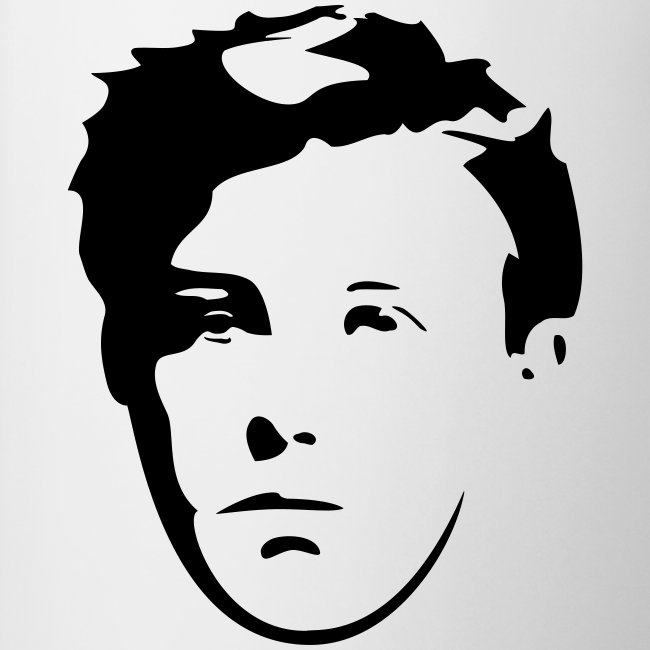 Tasse - Visage de Rimbaud