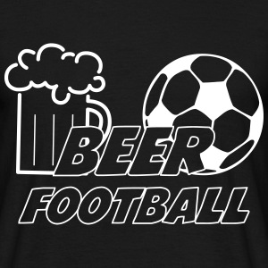 Beer Football T-Shirts - Men's T-Shirt