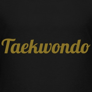 Taekwondo Shirts - Teenager Premium T-shirt